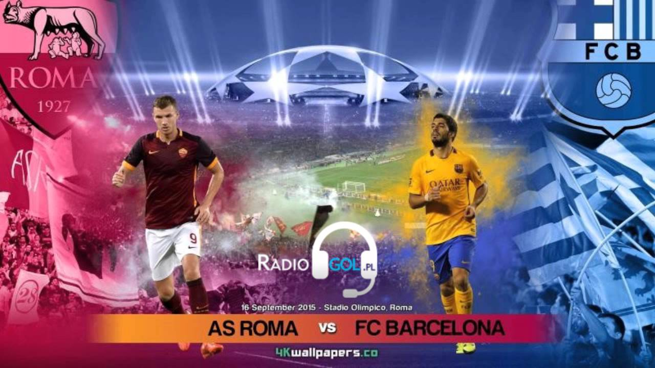 As Rom Vs Barcelona
