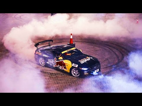 All-Out Drift Racing in the UAE   Red Bull Car Park Drift 2015