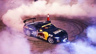 All-Out Drift Racing in the UAE | Red Bull Car Park Drift 2015