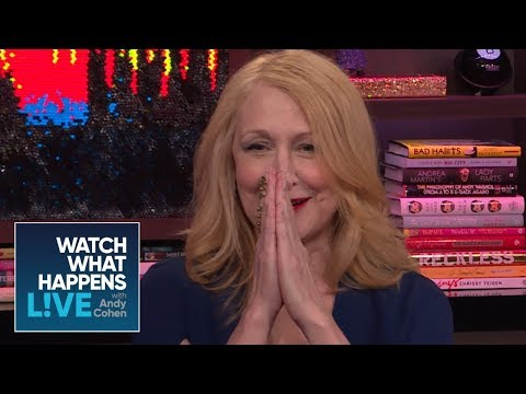 Patricia Clarkson Says Justin Timberlake Is Well Endowed  WWHL