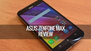 ASUS Zenfone Max (ZC550KL) Full Review