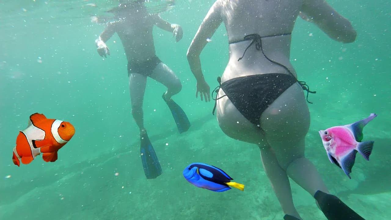 The Real Life Mermaids Underwater- Malta 2018