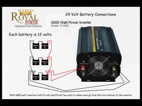 Wiring Diagram For 3 Way Caravan Fridge Viper 4103 Battery Connections Series Vs Parallel Youtube