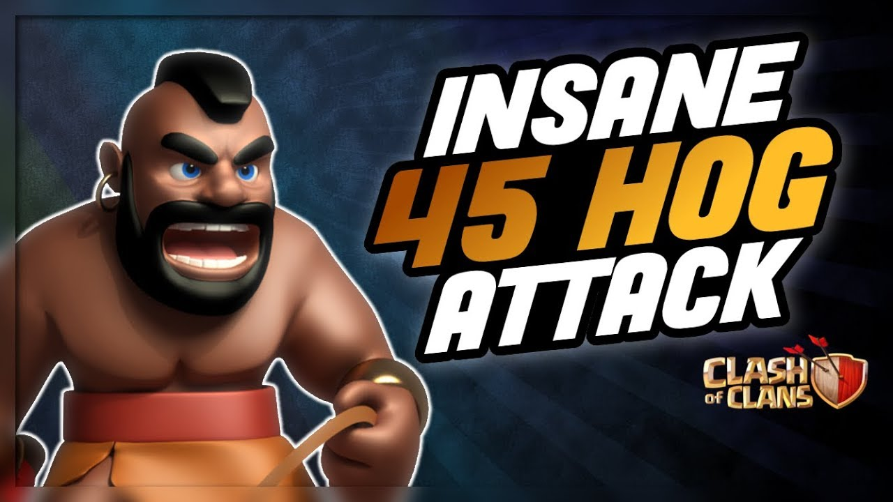 WOW!! INSANE HOG ATTACKS THAT DOMINATED IN WAR :: CLASH OF ...