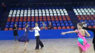 Final ballroom dance competition 09 oct 2016 .Samba + Chacha Cod 00086