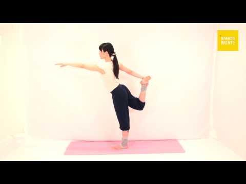 12ナタラージャアーサナ(ダンスのポーズ)