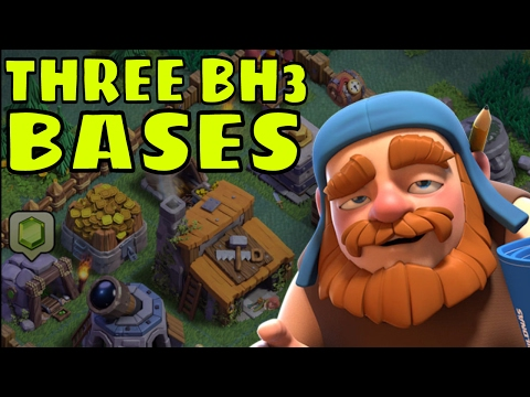3 GREAT Base Designs for Builder Hall 3 (BH3) in Clash Of Clans