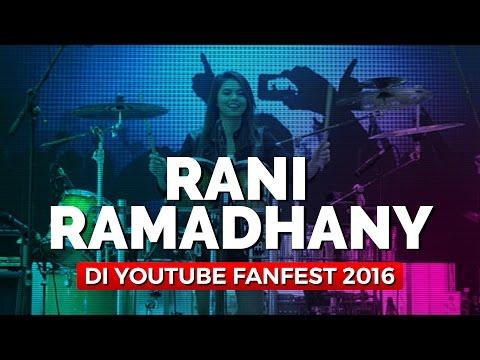 Rani Ramadhany Main Perkusi Di YouTube Fanfest 2016