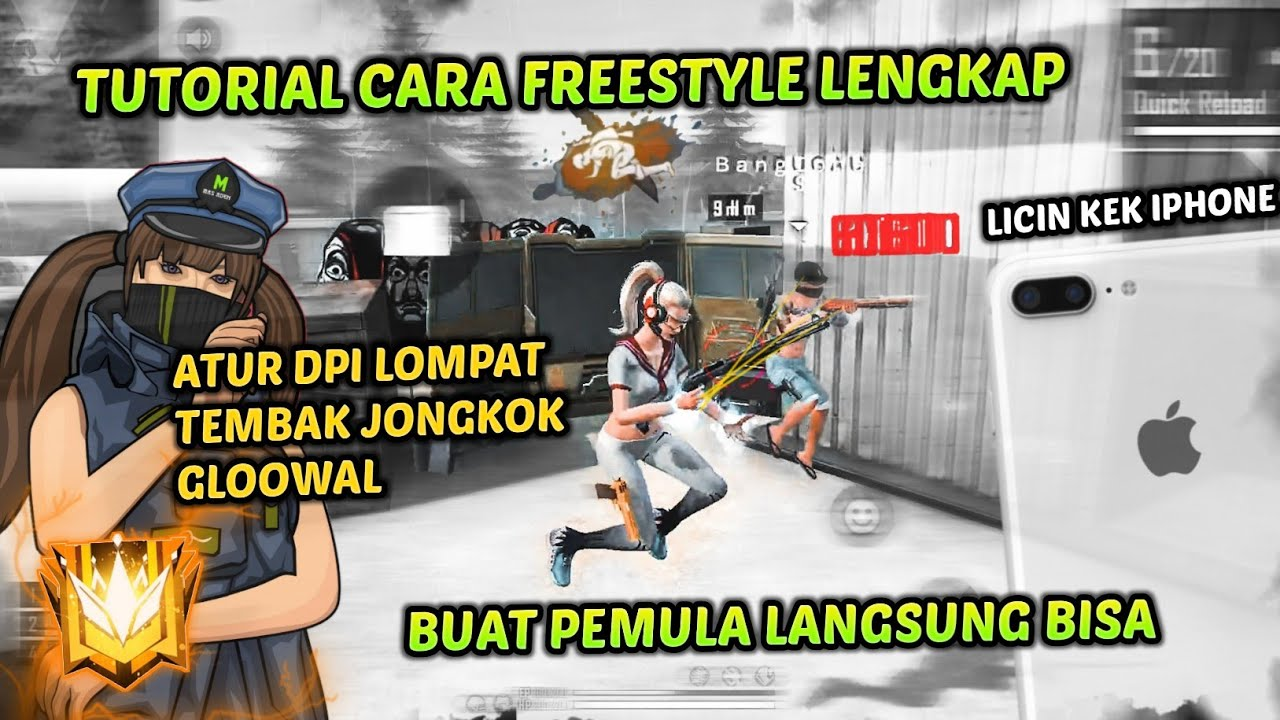 TUTORIAL CARA FREESTYLE PEPENGSHOT FREE FIRE 🎯 | Mas Aden Go 1M ❤️🇮🇩