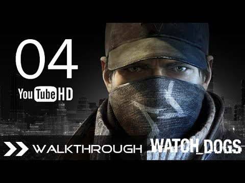 Watch Dogs Walkthrough Gameplay Mission - Part 4 (Act 1 - Thanks For The Tip) HD 1080p No Commentary