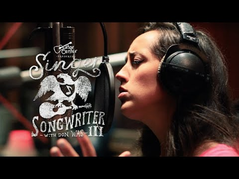 Singer-Songwriter 3 Winner Tess Henley with Don Was at Henson Recording Studio