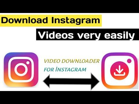 Download instagram video very easily Video Downloader for Instagram.- tech talks