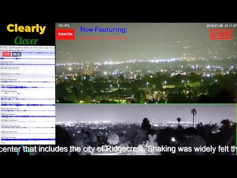 Live: Los Angeles City Cam & Earthquake LAPD Scanner, Chat, Talk
