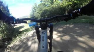 Stuff Lora Says on a bike