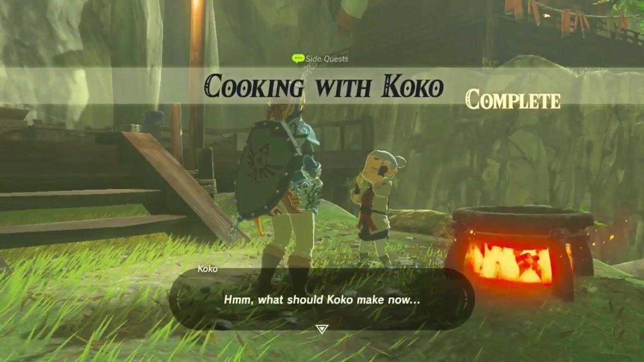 Koko S Kitchen Zelda Breath Of The Wild