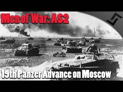 Men of War: AS2 - 19th Panzer Advance on Moscow - Early War Eastern Front