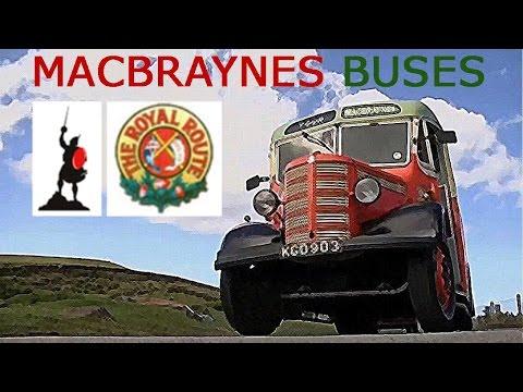 BUSES MacBraynes Buses (Gaelic with subtitles)