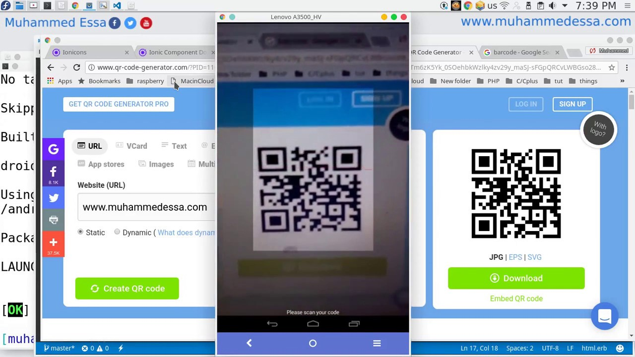80 Ionic 3 Barcode & QR readers native plugin