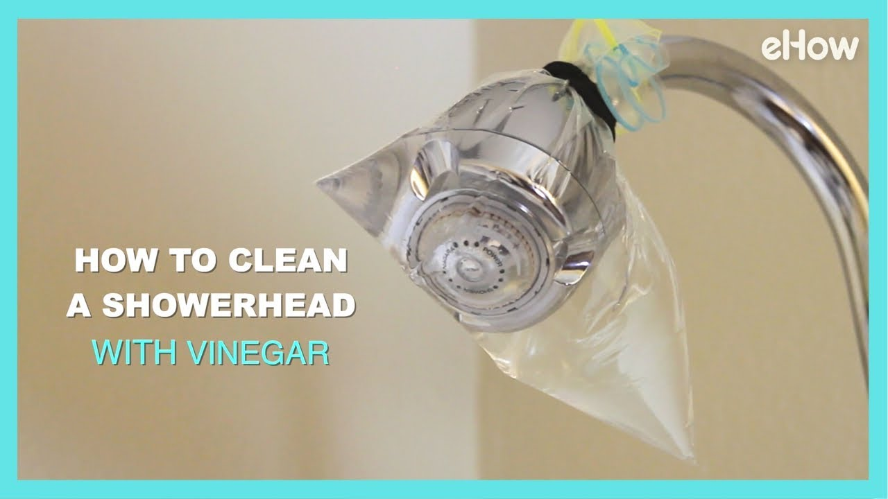 How To Clean A Grimy Shower Head With Vinegar Diy Irl Youtube