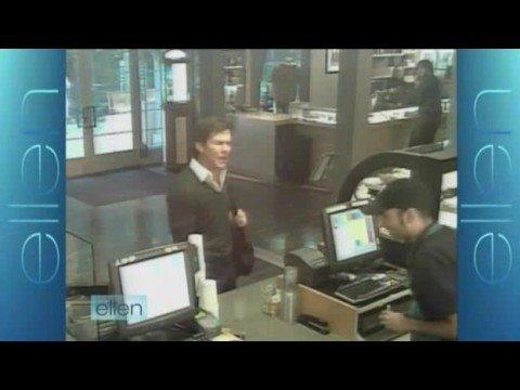 Dennis Quaid Interview on Ellen + Hidden Camera Prank 10/14/08 Part 2