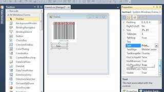 Print barcode in WinForms