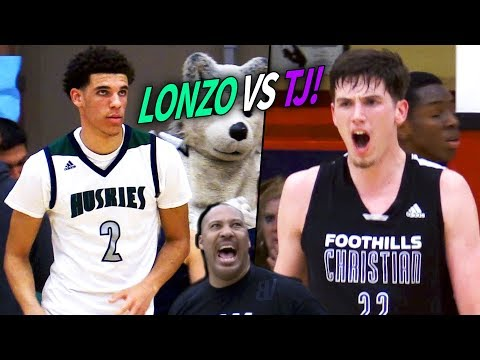 Lonzo Ball VS TJ Leaf In HIGH SCHOOL! Chino Hills ENDS TJ Leaf's High School Career With A LOSS!