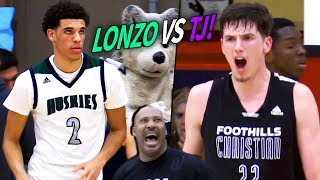 TJ Leaf vs Lonzo Ball & Chino Hills! TJ Leaf's FINAL High School Game! LAST FACEOFF Before UCLA!