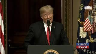 Pres Trump on Fighting Human Trafficking