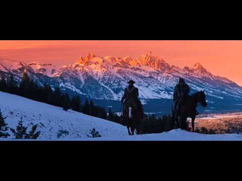 Django Unchained - I got a name winter scene