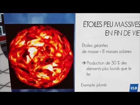 PITCH - Sophie Van Eck: la production d'éléments chimiques dans l'Univers