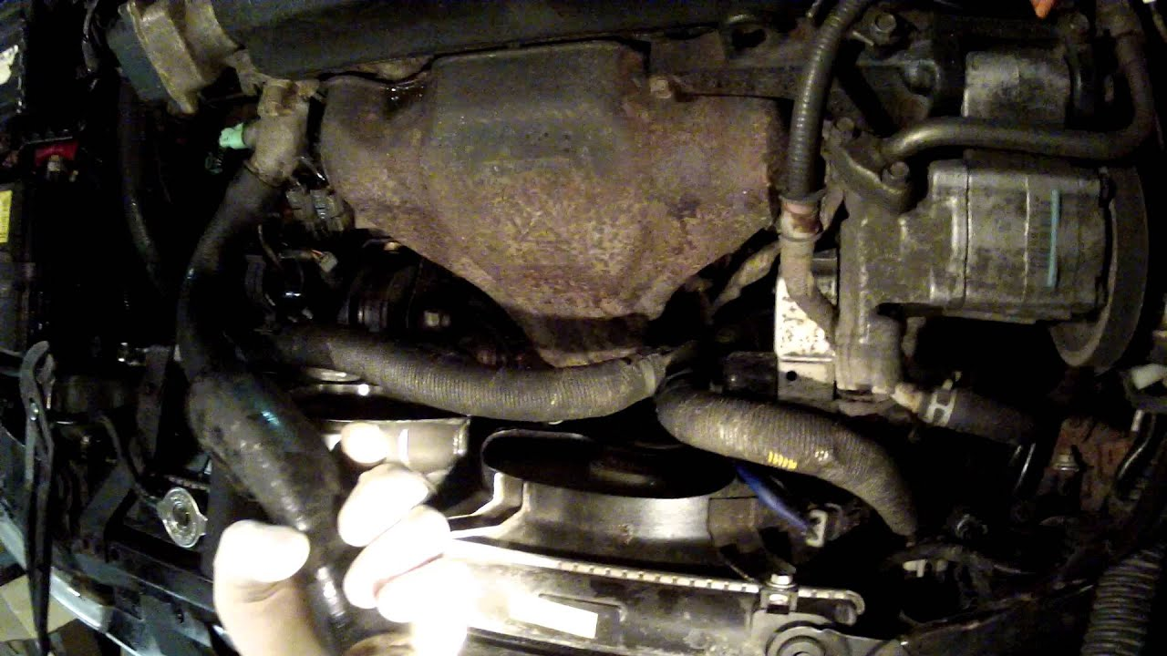 2001 honda civic engine diagram cat5e wiring b replacing radiator hose - youtube