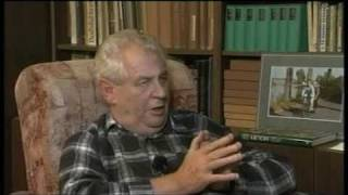 Interview Z1, host: Miloš Zeman (30. 10. 2009)
