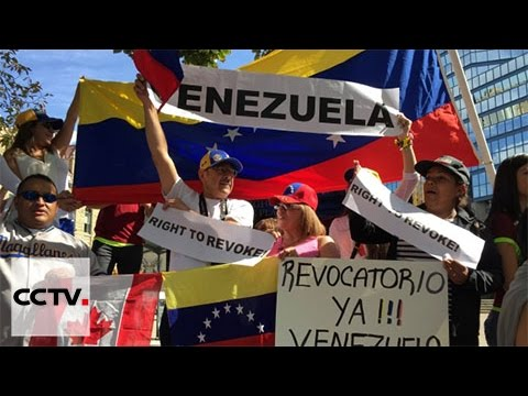 Venezuela: Protesters want recall vote against President Maduro