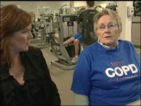 Mary Walsh speaks to a Team COPDer