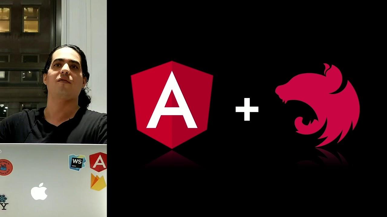Fullstack Angular w/ NestJS 🎤 Nir Kaufman
