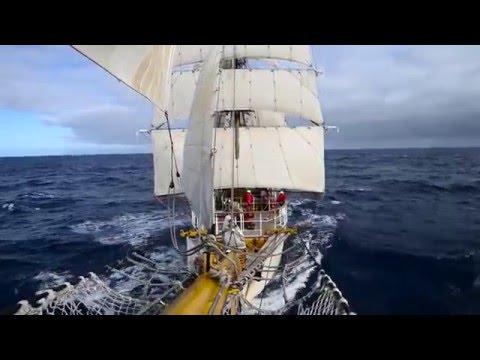 6,000 Miles at Sea
