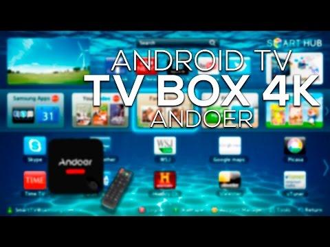 Convierte tu TV en un Smart TV   Android 5.1 TV BOX, 4K Ultra HD, 4 Quad Core