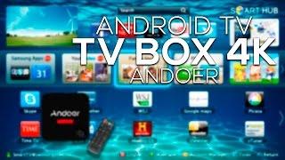 Convierte tu TV en un Smart TV | Android 5.1 TV BOX, 4K Ultra HD, 4 Quad Core