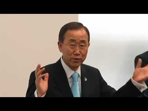 U.N. Secretary General Ban Ki-moon at NREL