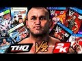 Old Vs New WWE Video Games! (THQ VS 2K)