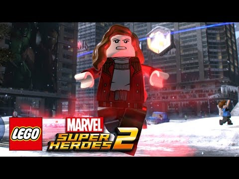 LEGO Marvel Super Heroes 2 - How To Make Scarlet Witch (Eliz