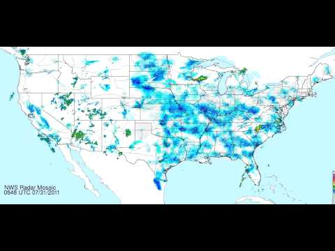 National Weather Service Doppler Radar: 2010 To 2012