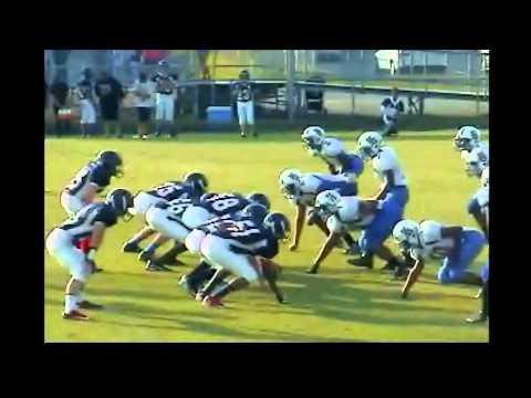 Nick West King George Middle School Football 2012 season.wmv