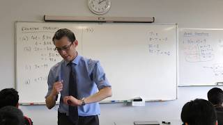 Solving Equation Problems (3 of 3: Translating to an equation)