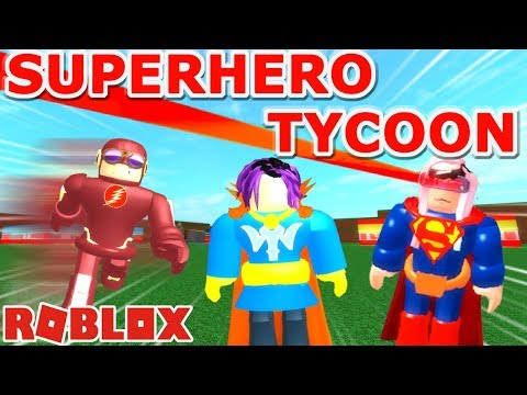 Roblox: Superhero Tycoon / Spider-Man 🕷🕸, Dr. Strange, The Flash, and Antman! 🐜