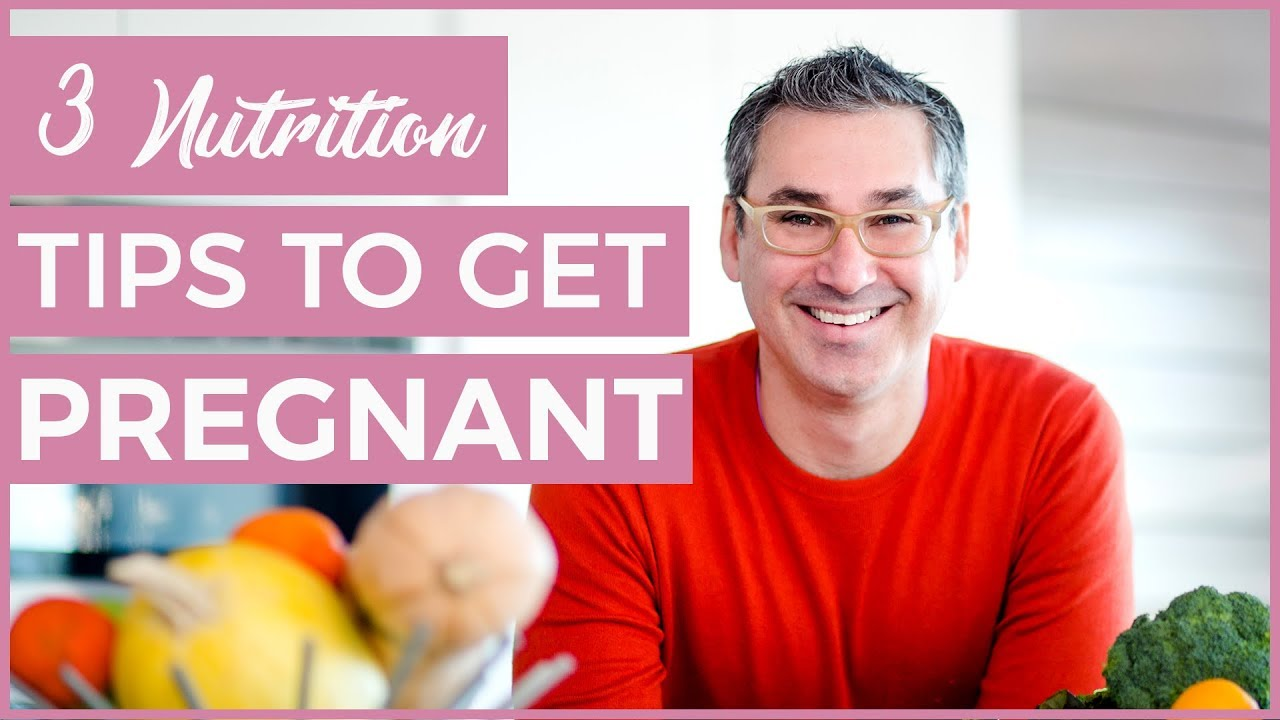 What to eat to get pregnant fast 3 nutrition tips youtube ccuart Images