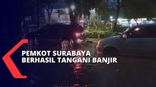 Penanganan Banjir Surabaya, Pemkot Pastikan Sudah Tidak Ada Banjir Sejak Rabu Malam