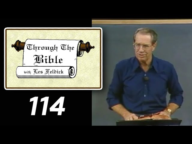 [ 114 ] Les Feldick [ Book 10 - Lesson 2 - Part 2 ] Prayer - Prophesy - Old Testament: Daniel 6 & 9