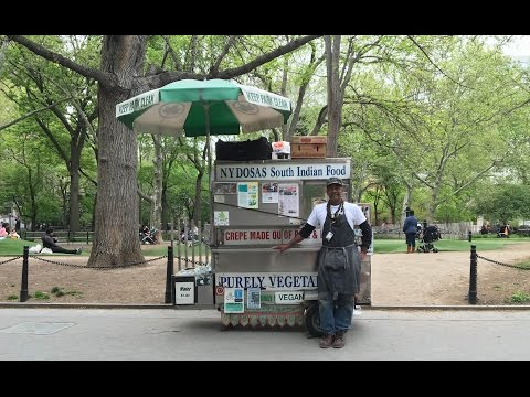 Famed Dosa Man Of Washington Square Park