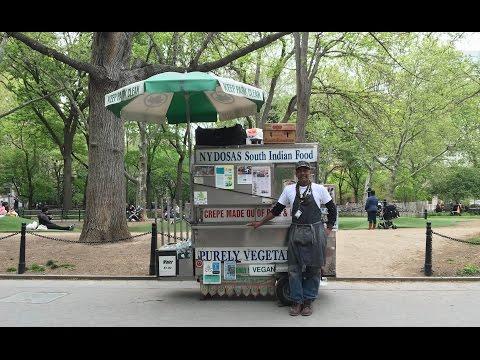 Famed Dosa Man Of Washington Square Park